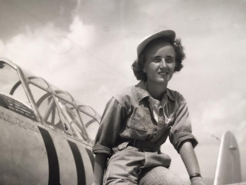Pilot Florence Shutsy-Reynolds